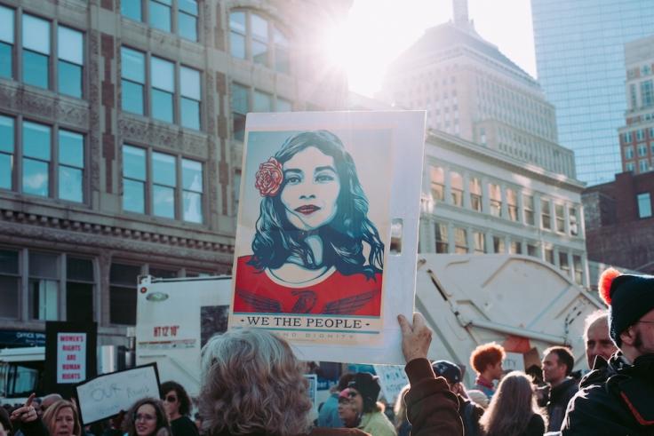 alt=BH women protest